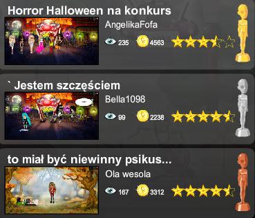 """NewAmerican - moviestarplanet.pl: Zwycięzcy konkursu """"Horror"""