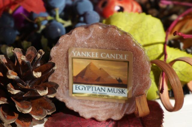 Egipskie piżmo wieczorową porą - wosk Yankee Candle Egyptian Musk