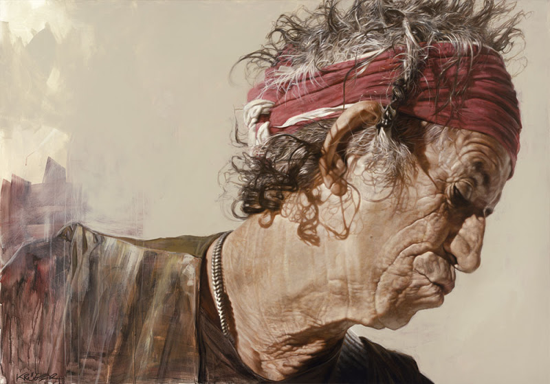 Keith Richards - New Pop Realism - Sebastian Krüger 1963