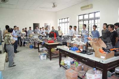 Khóa học nghiệp vụ Tu bổ di tích - Phục hồi di tích tại Hà Nội