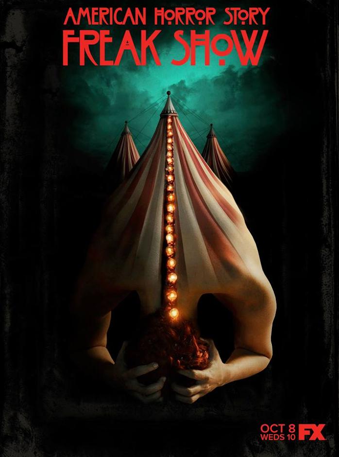 AHS: Freak Show Poster primeiro trailer