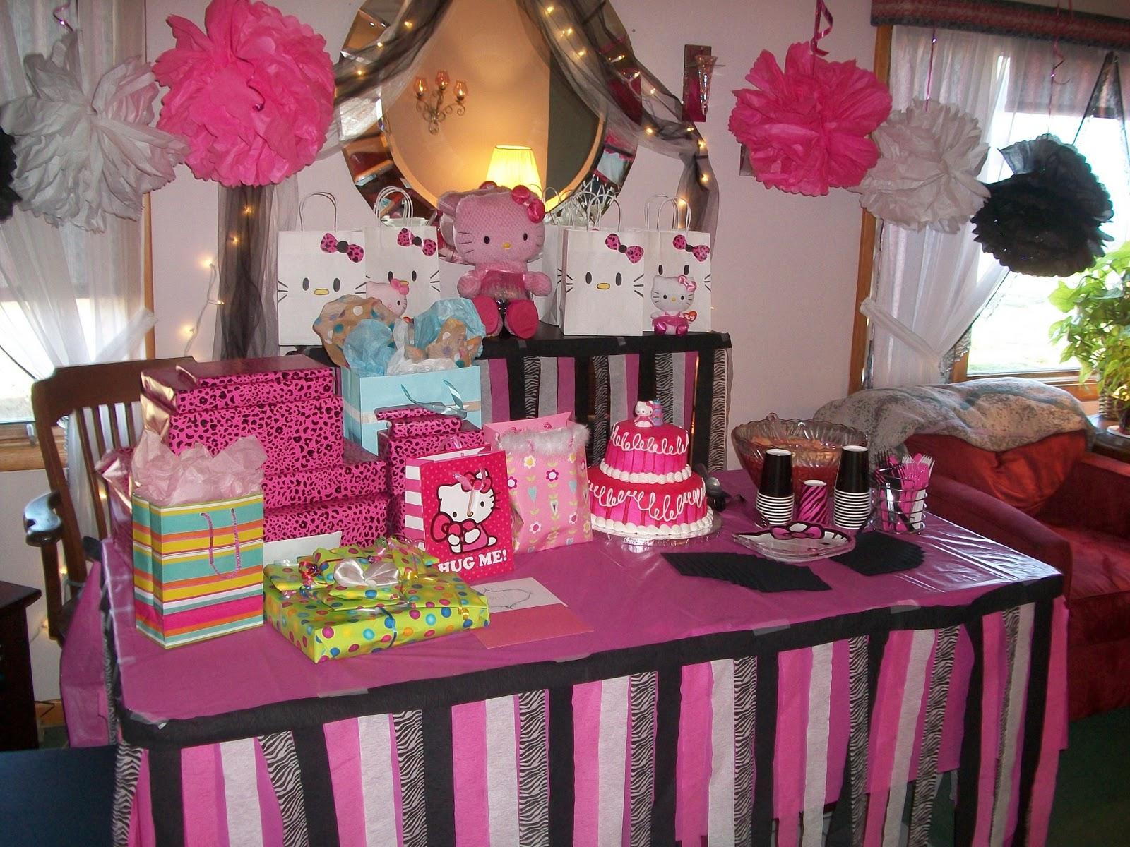 diy hello kitty birthday party ideas Colesthecolossusco