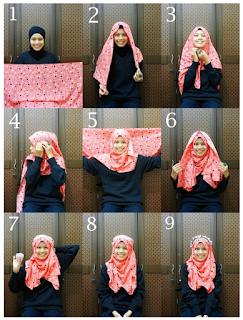Tutorial Cara Memakai Hijab Modern Pashmina Fariasi Baru Update