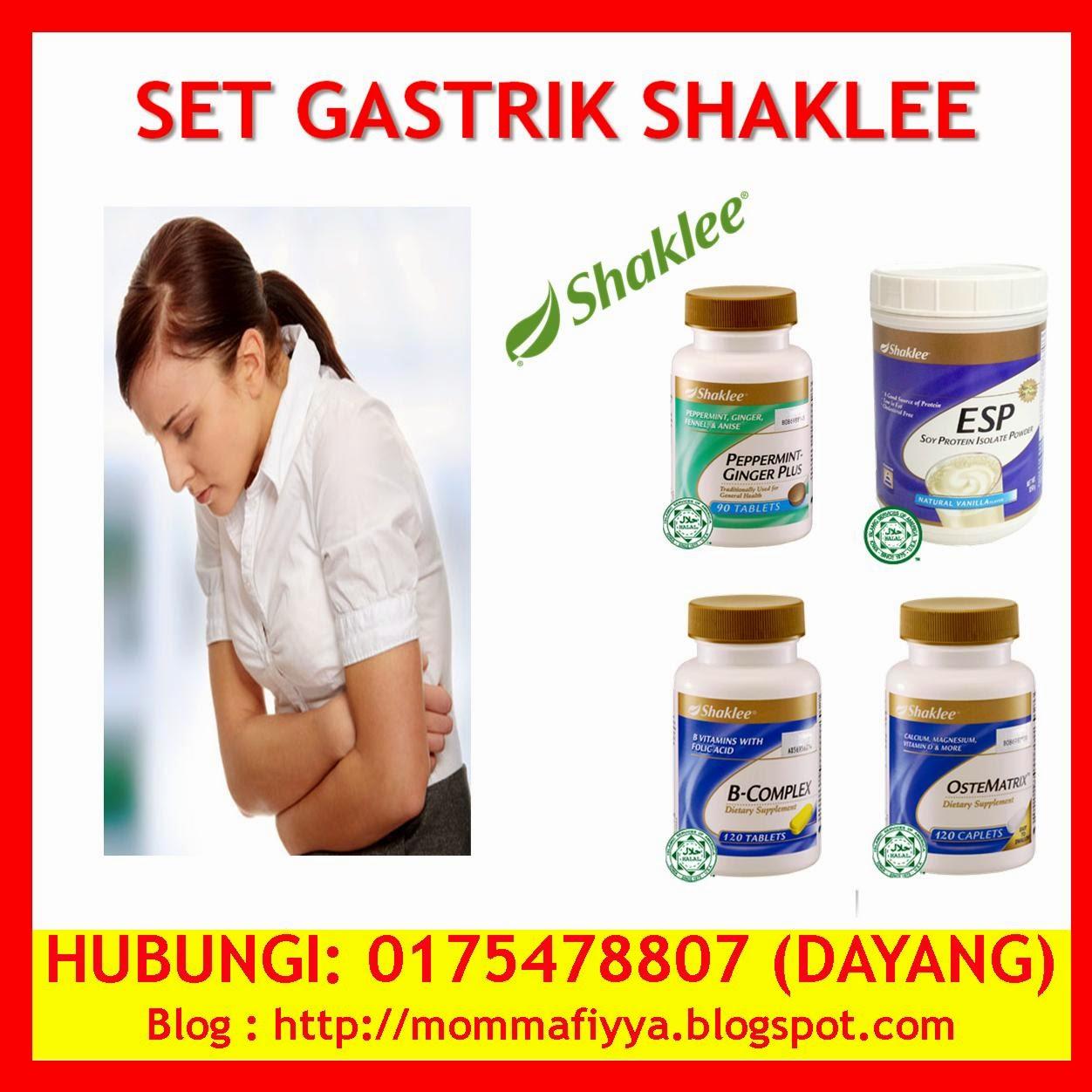set gastrik shaklee