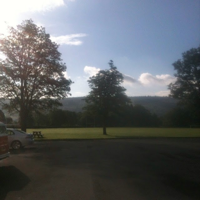 John Ruskin playing fields Coniston