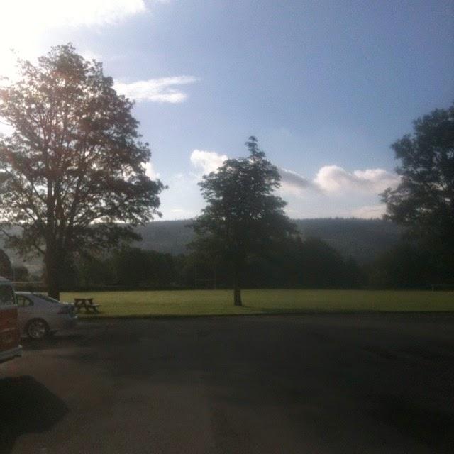 John Ruskin playing fields Coniston