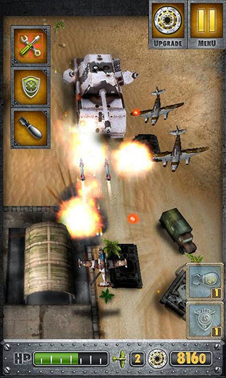 Screenshots of the Air storm HD for Android tablet, phone.