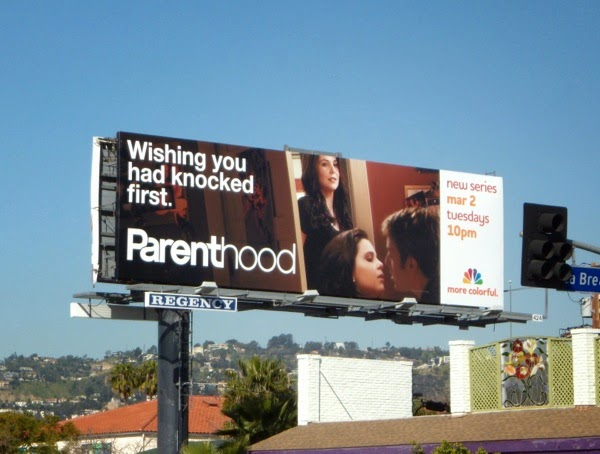 Parenthood season 1 TV billboard