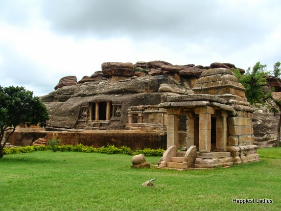 Aihole Ravanaphadi Rock Cut Shrine