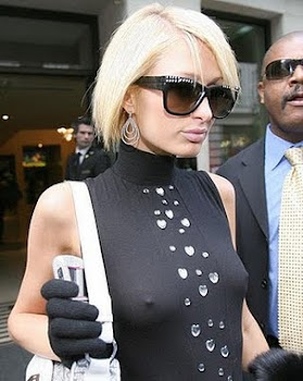 Paris Hilton Wardrobe Malfunction