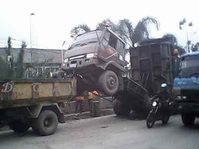 Dump Truck Jumps