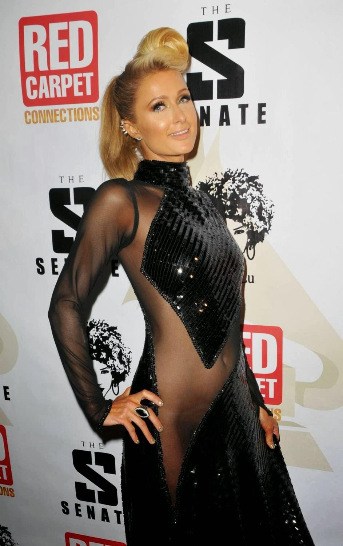 Paris Hilton Shows Pussy 15