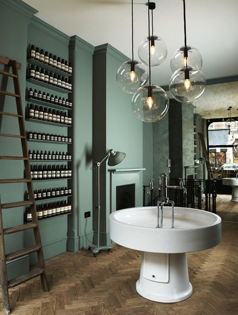 Edsp apothecary on pinterest aesop store paul smith for Retail interior designers in london