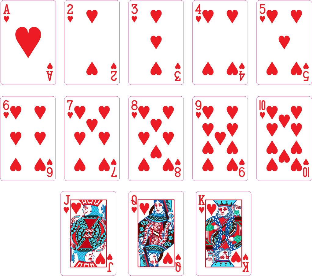bezierinfo heart playing cards. Black Bedroom Furniture Sets. Home Design Ideas