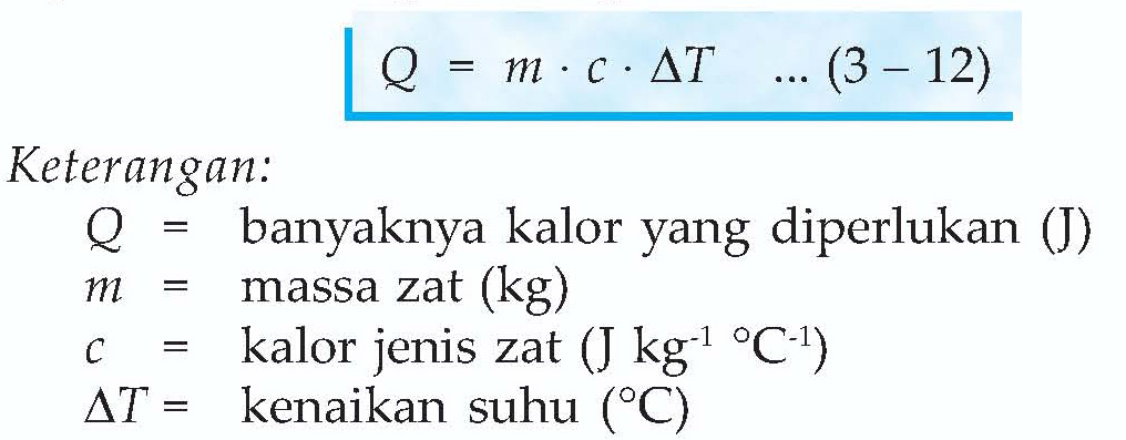 Jika dituliskan dalam bentuk persamaan matematika, diperoleh hubungan ...