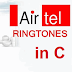 Compose your own airtel tone using C language