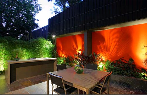New Year Garden Party Lighting Design