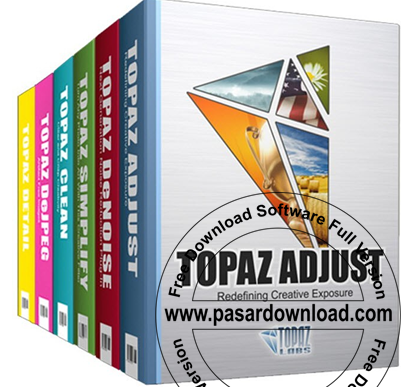 Free Download Software Topaz Photoshop Plugins Bundle 2014 Full Version (Serial and Patch Included)