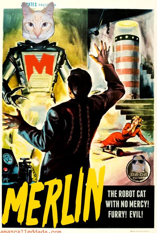 MERLIN: Robot Cat With No Mercy