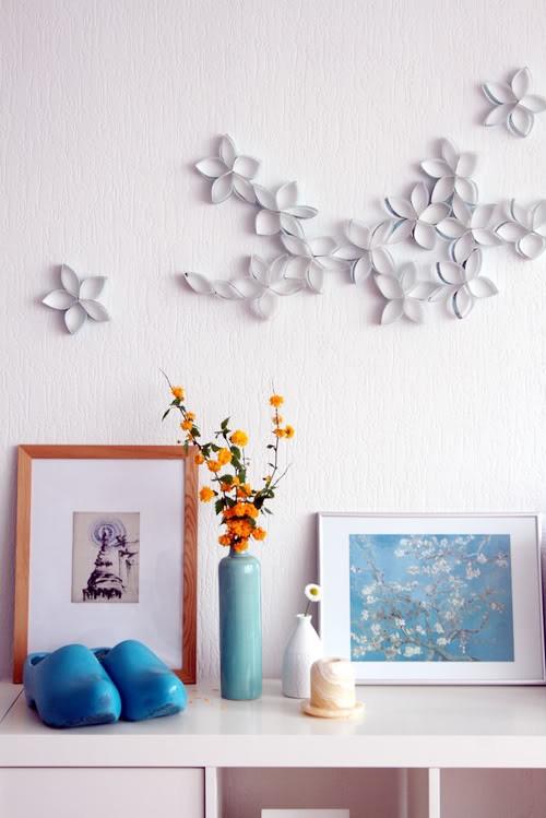Sideboard style miss walker - Comment habiller un mur blanc ...