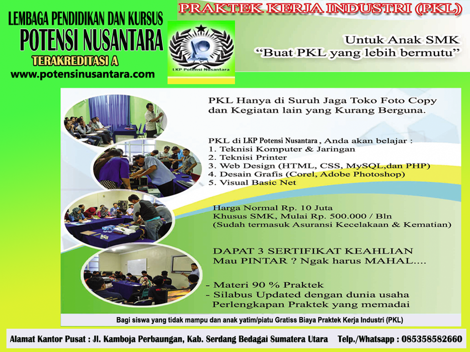 PROGRAM PRAKERIN (PKL) SISWA SMK