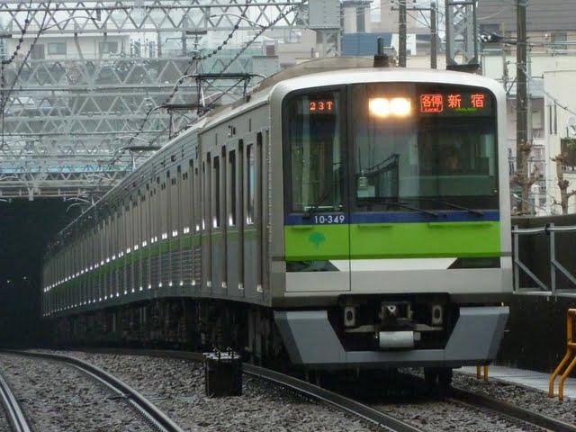 都営新宿線 各停 新宿行き5 10-300形