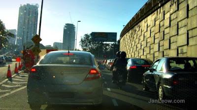 The Jalan Damansara / TTDI / LDP interchange, bad traffic light timing & road management