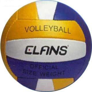 Un balón de Voleibol mide 65-67 cm. de circunferencia.