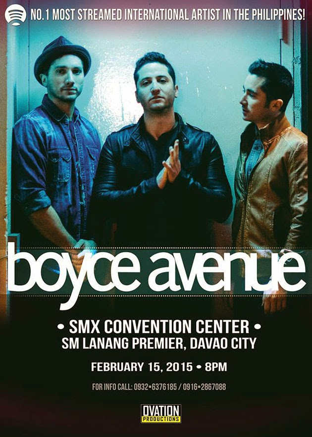Boyce Avenue Live in Davao at SM Lanang Premier