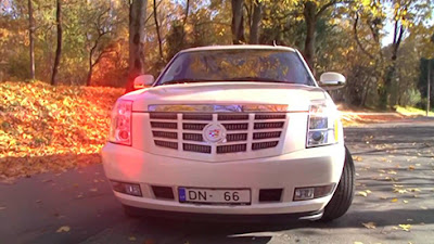 Cadillac Escalade limuzīns @ Rigacars