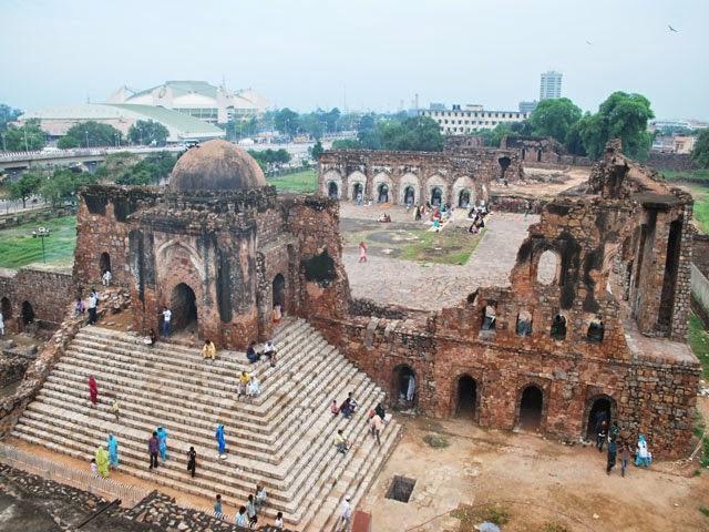 Feroz Shah Kotla Fort, Delhi