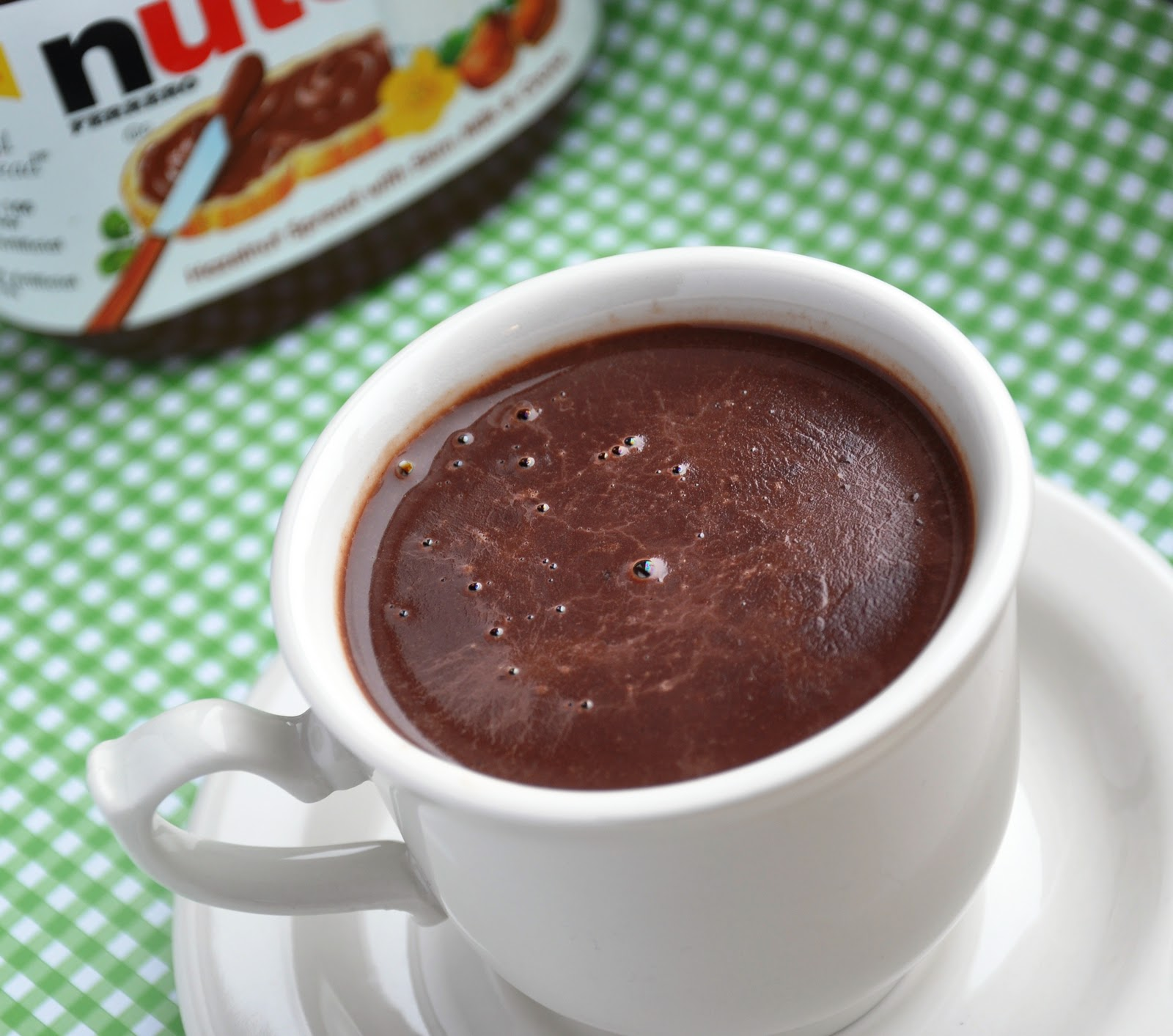 Nutella Hot Chocolate... Guilt-Free, sorta! - Honey, Whats Cooking