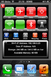 SBSettings Screenshot
