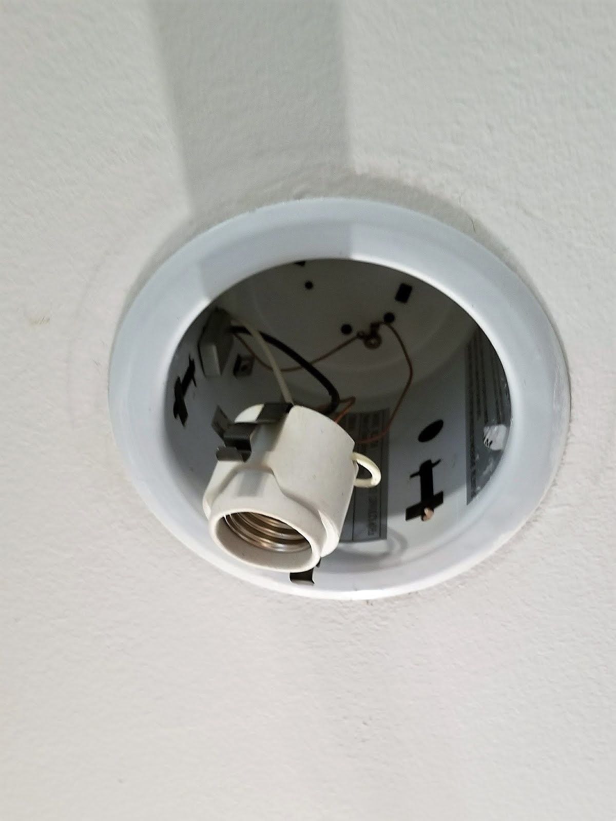 Love k how to install led recessed lights up next take the portion of the new retrofit lights that looks like the bottom of a light bulb and then screw it into the socket aloadofball Gallery