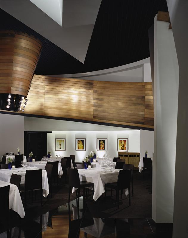 Imagine these restaurant interior design lutece las for Interior design las vegas