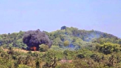 Kronologi tabrakan 2 pesawat TNI AU di Malaysia