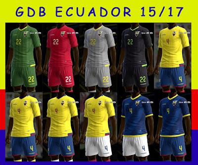 PES 2013 Ecuador 15/17 GDB by kIkEJG17