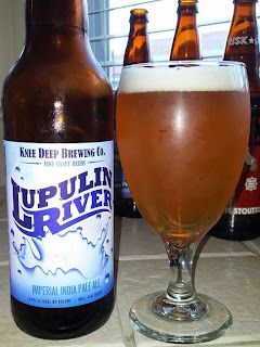 Knee Deep Lupulin River Imperial IPA 1