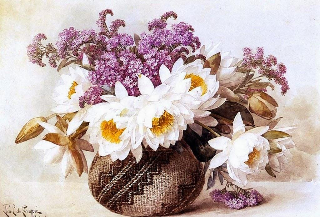 jarros-y-flores-pintados-con-acuarela