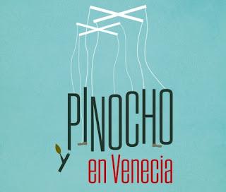Pinocho en Venecia - Detalle de la portada