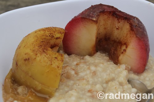 radmegan: in words and pictures: Camp Cooking: Easy Baked Apples