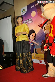 Bollywood Actress Kajol at Mighty Raju Rio Calling Promotion  0045