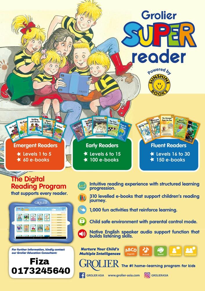 GROLIER SUPER READER