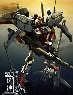 deviantart digital painting fanart gundam fan art sandrum s gundam