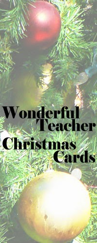 When Teachers Get Wonderful Christmas Cards from Students
