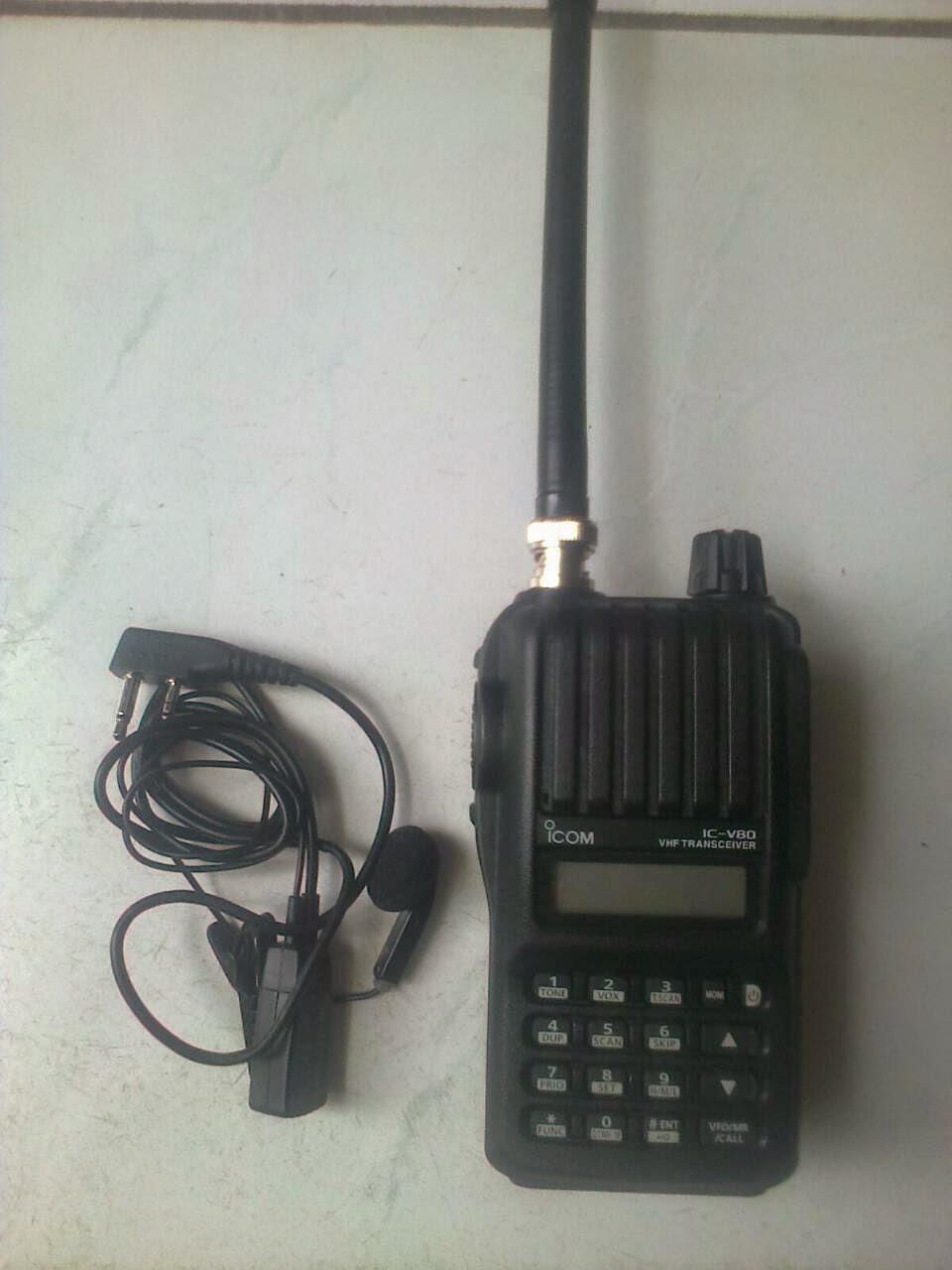 Tempat Jasa Penyewaan HT Handy Talky Icom V80 Murah Di Jakarta