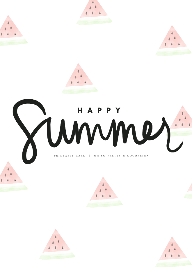 Happy Summer Quotes. QuotesGram. SUMMER PRINTABLE CARDS BY OH SO PRETTY  Cocorrina Bloglovinu0027