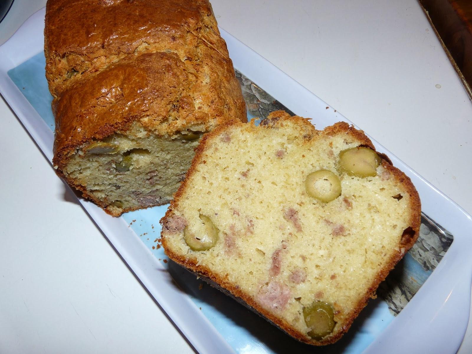 Recette cake au olive marmiton