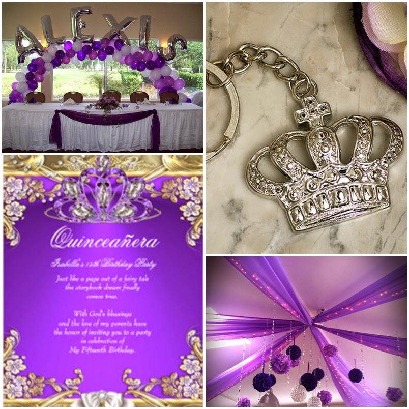 Purple Princess | A Royal Sweet Fifteen Quinceanera Theme ...