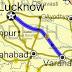 हरपालगंज तथा कोईरीपुर रेलवे स्टेशन के मध्य ५ अगस्त रेलवे फाटक बन्द|